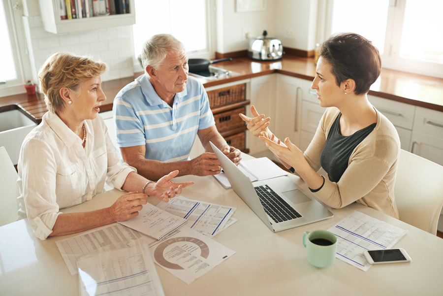 Financial advisors for a healthy retirement