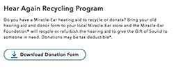 Miracle Ear website