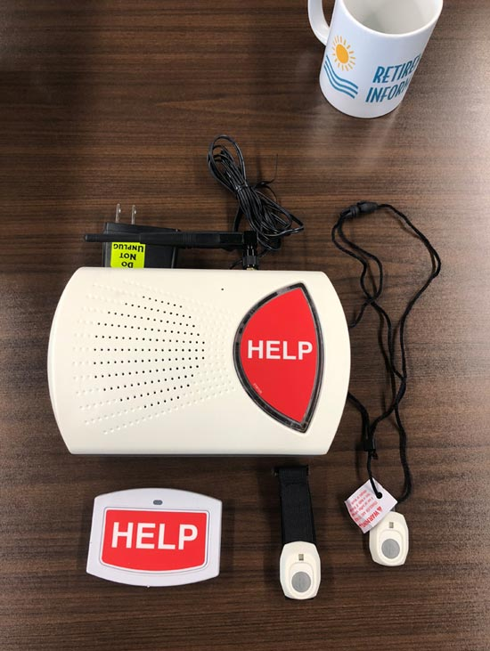Bay Alarm Medical box