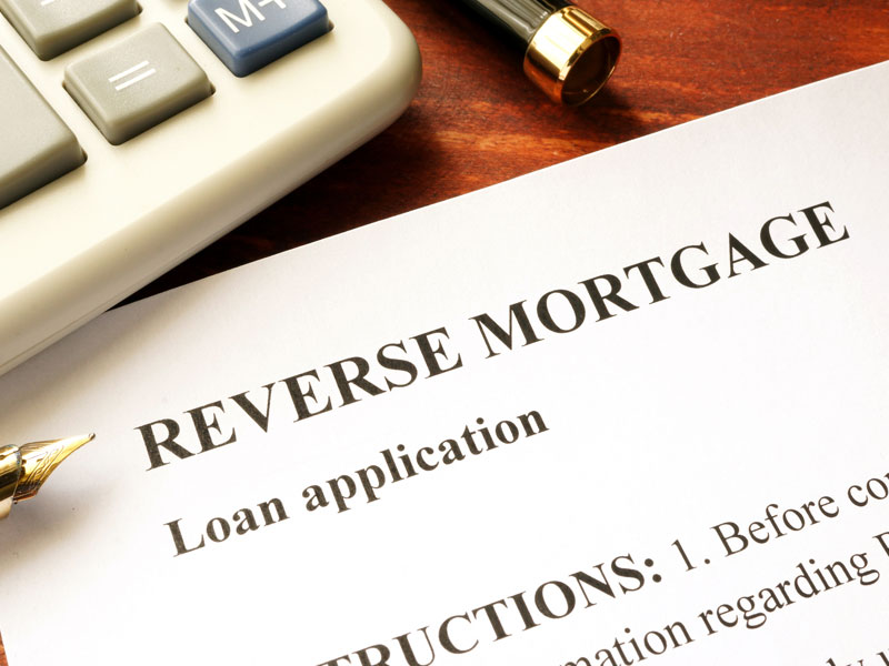 reverse mortgage application