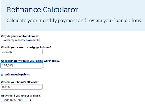 Quicken Loans screenshot