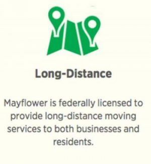 Mayflower long-distance moving