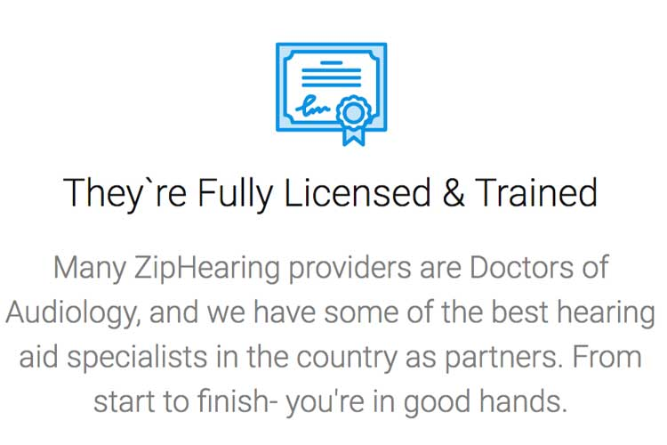 ZipHearing local providers