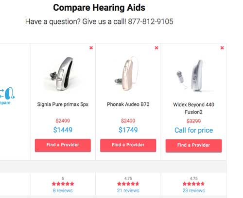 ZipHearing website