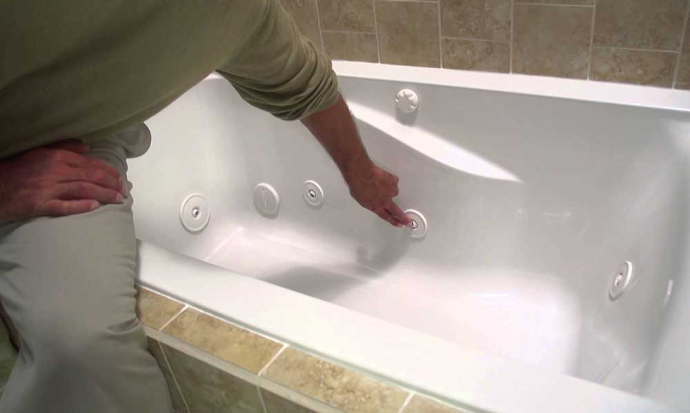 walk-in tub maintenance