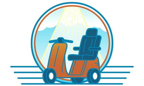 Scooters 'N Chairs logo