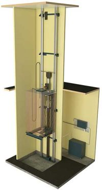 home elevator maintainence