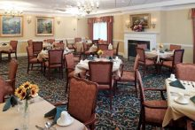 Senior Star at West Park Place Dining Room