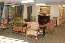 Senior Star at Woodland Terrace Living Room